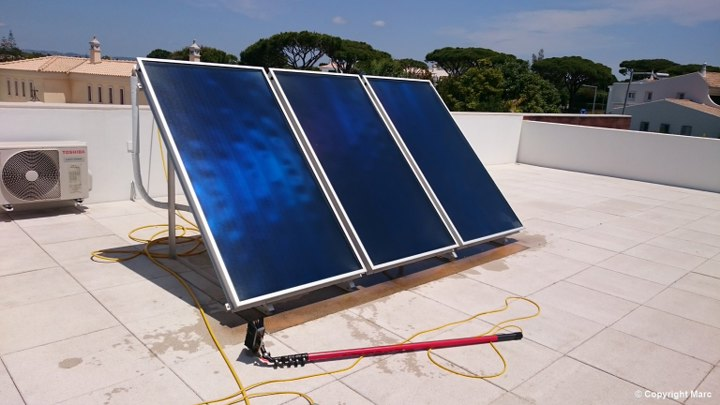 Solar Panel Cleaning Algarve