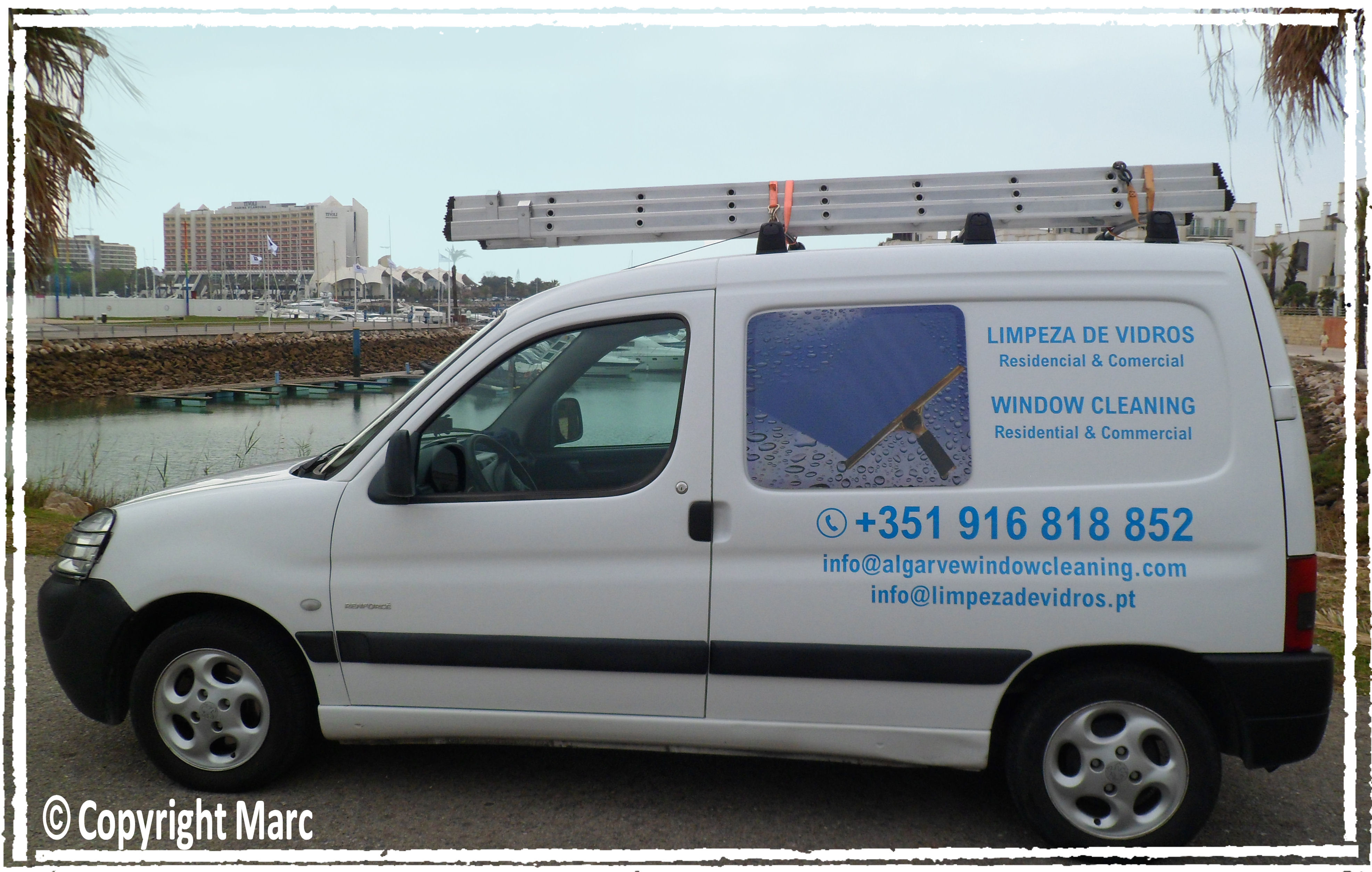 Algarve Window Cleaning Van